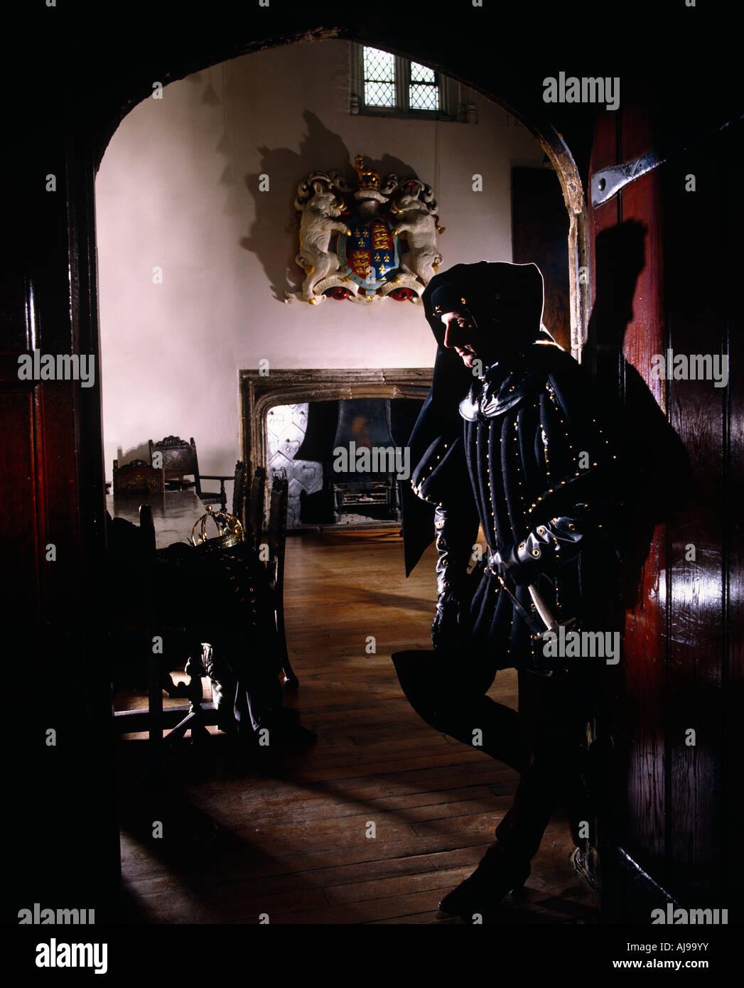 Battle Of Bosworth - Richard III - Stock Image