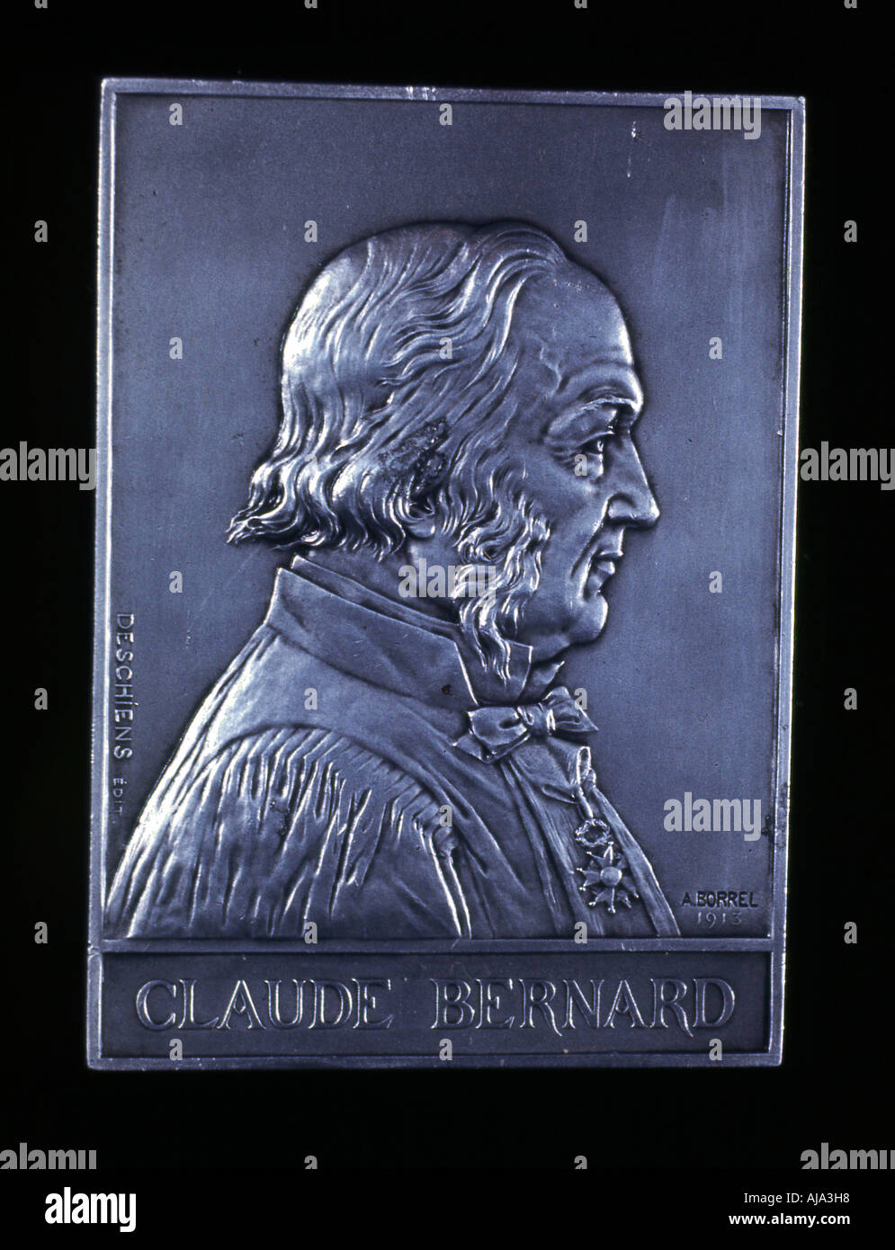 Claude Bernard 19th century French physiologist 1913  - Stock Image