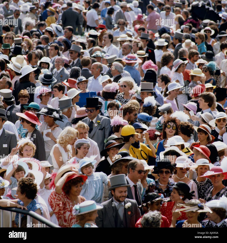 Ladies Day Royal Ascot Middx GB U.K. - Stock Image