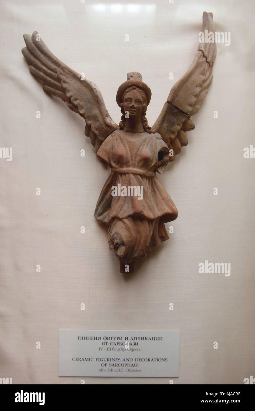 Archaeological Museum Roman artefact Varna Bulgaria - Stock Image
