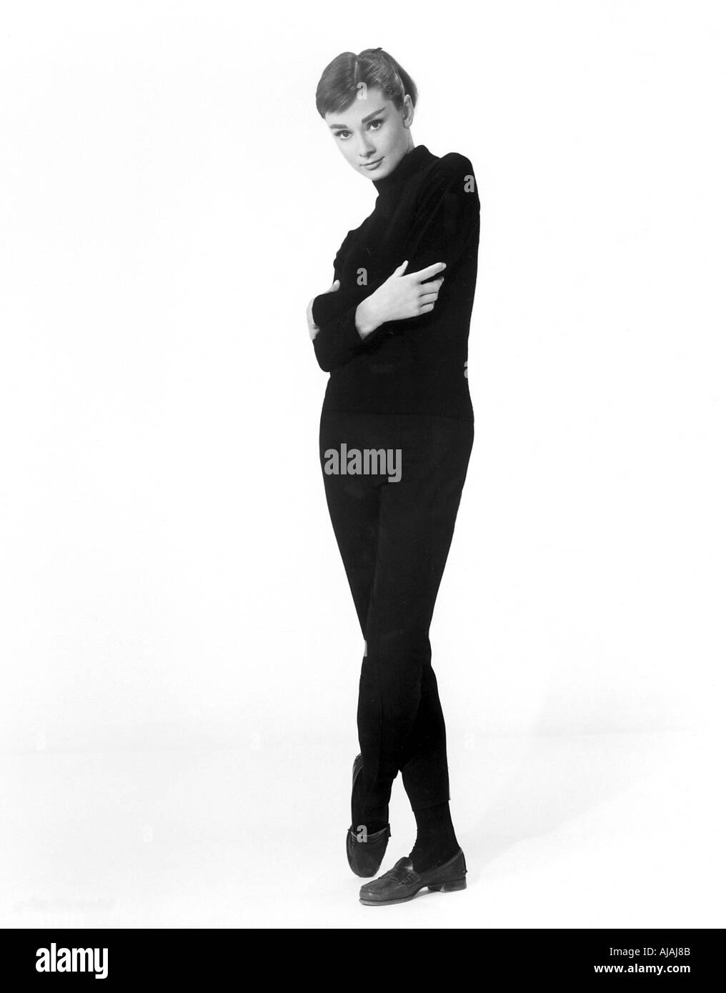 Audrey Hepburn Black And White Stock Photos Images Alamy