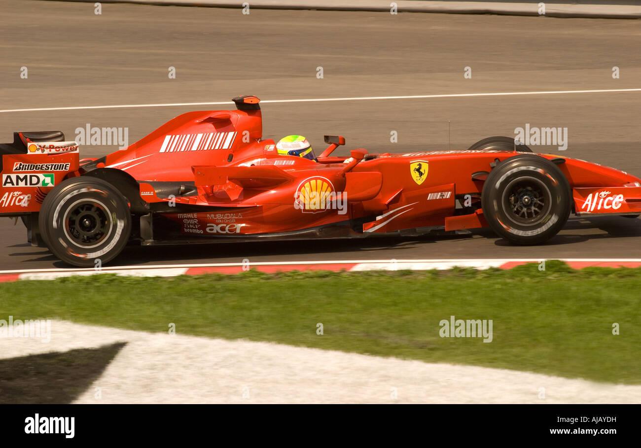Dpa) ferrari formula 1 driver rubens barrichello from brazil.