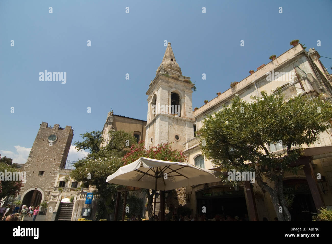 Chiesa di san Giuseppe Taormina Sicily Italy July 2006 - Stock Image