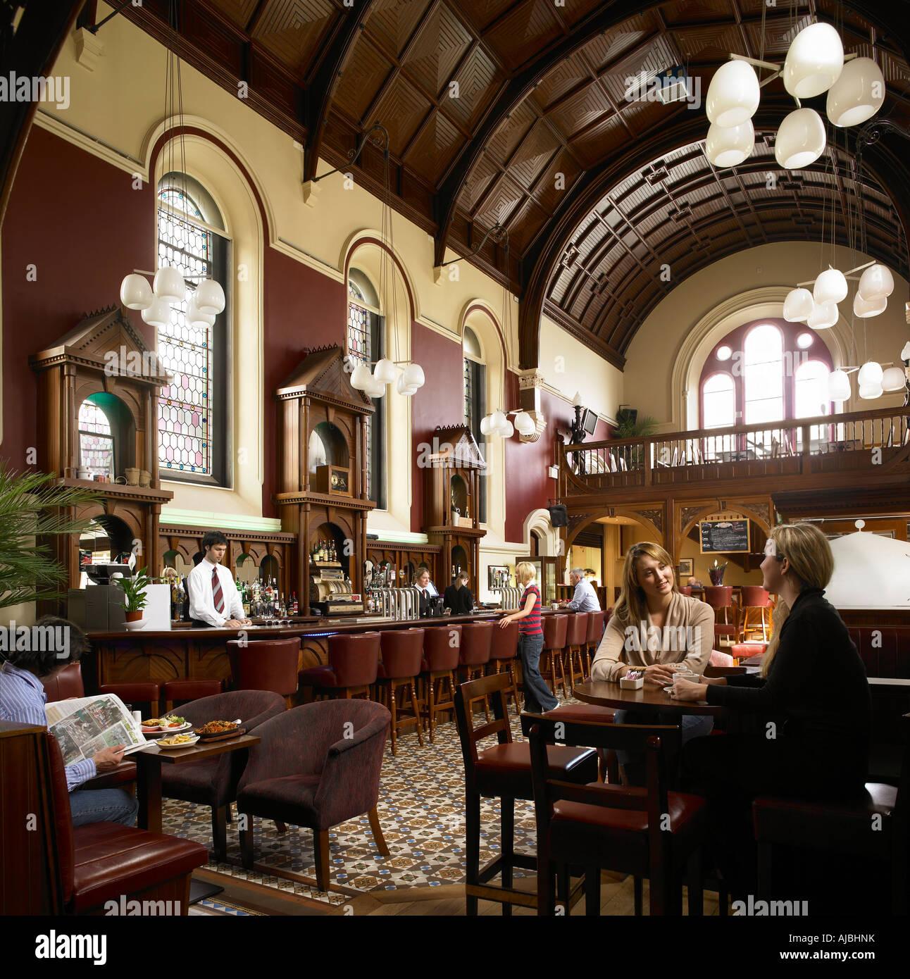 An Irish bar in Co Kildare - Stock Image