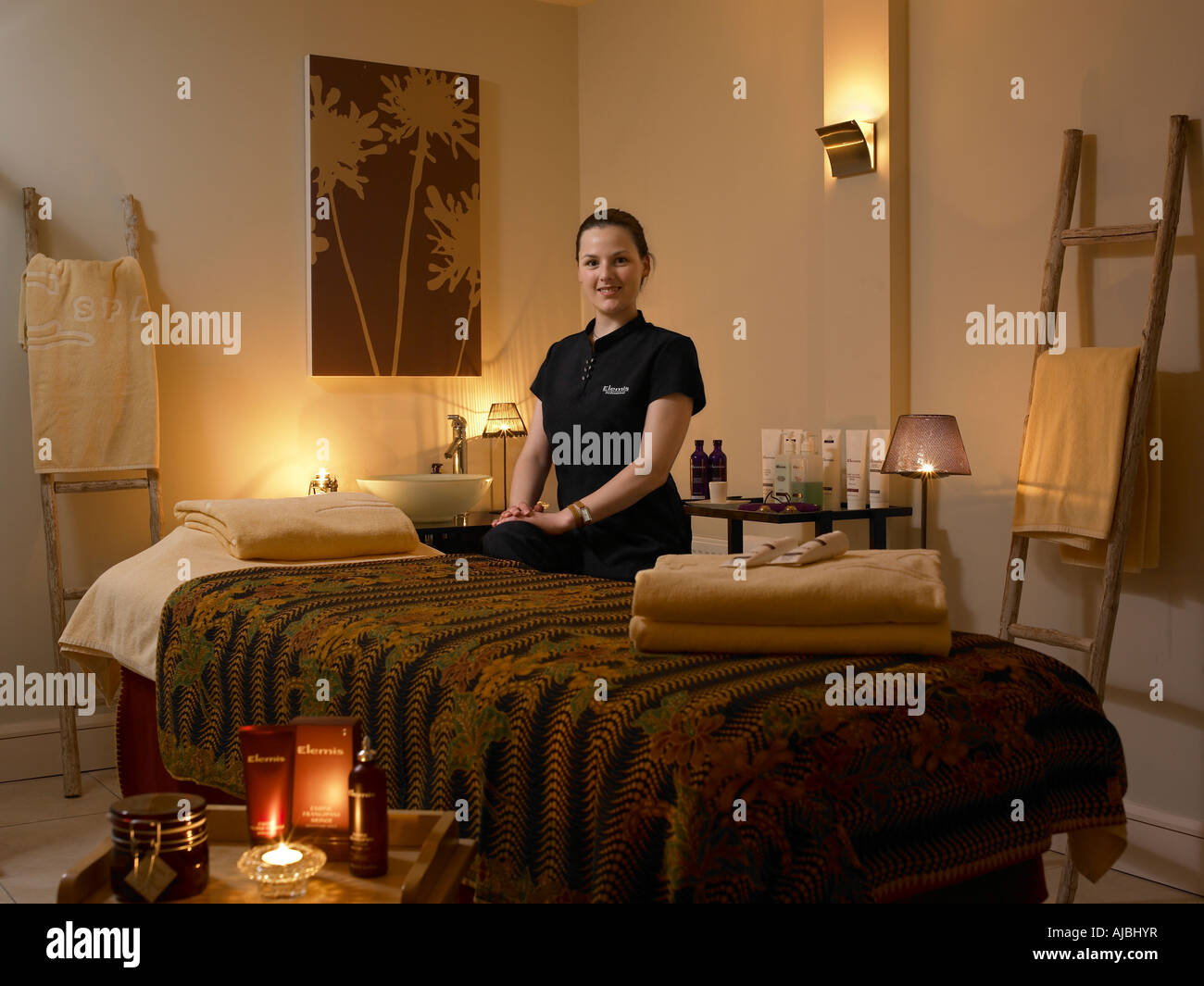 Welcome to the treatment room - Stock Image