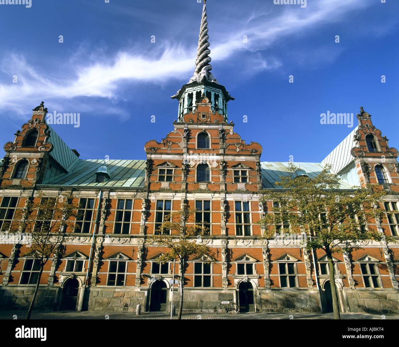 DK - COPENHAGEN:  The Exchange - Stock Image