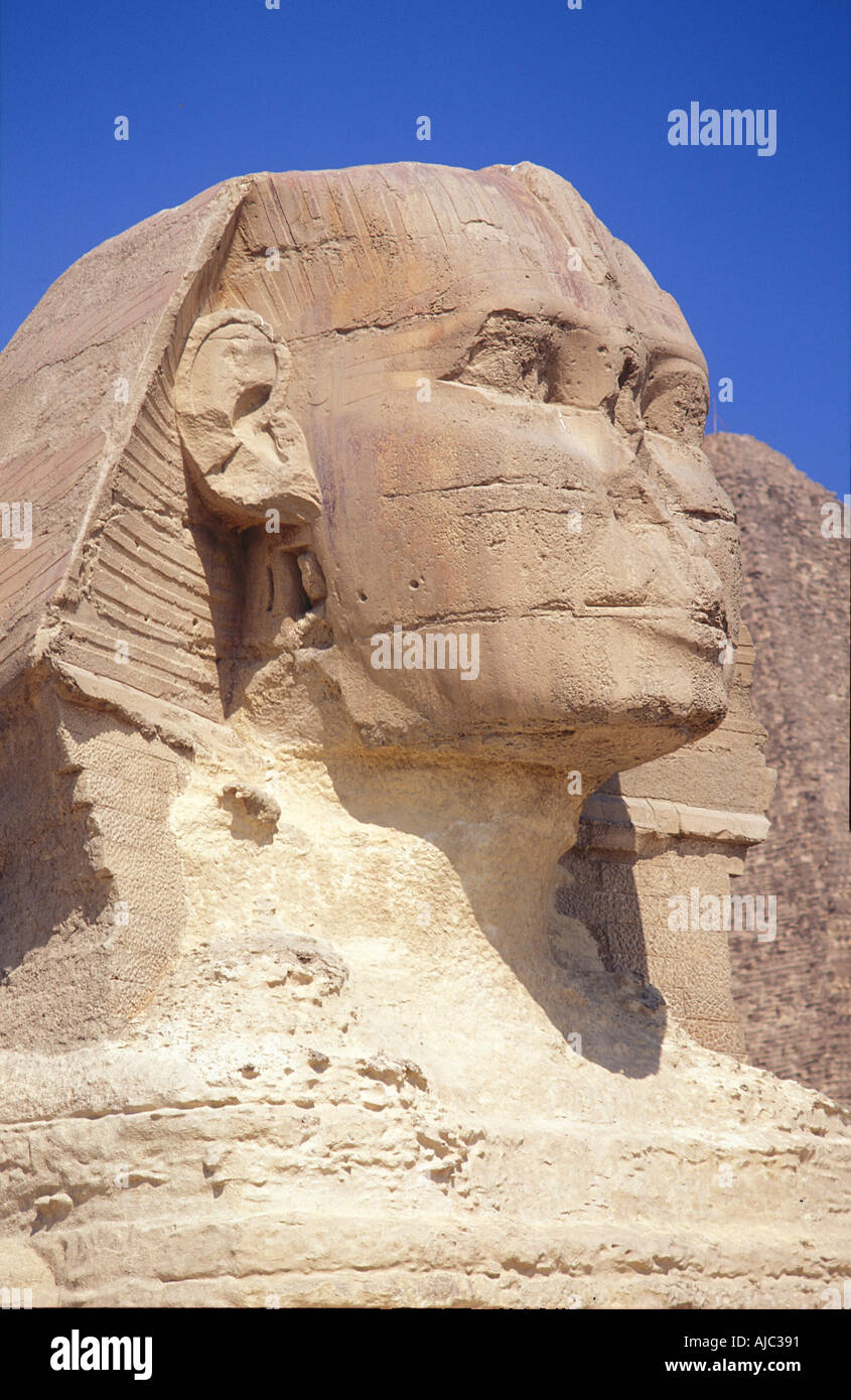 Ancient egyptian iconic carving sphinx stock photos ancient