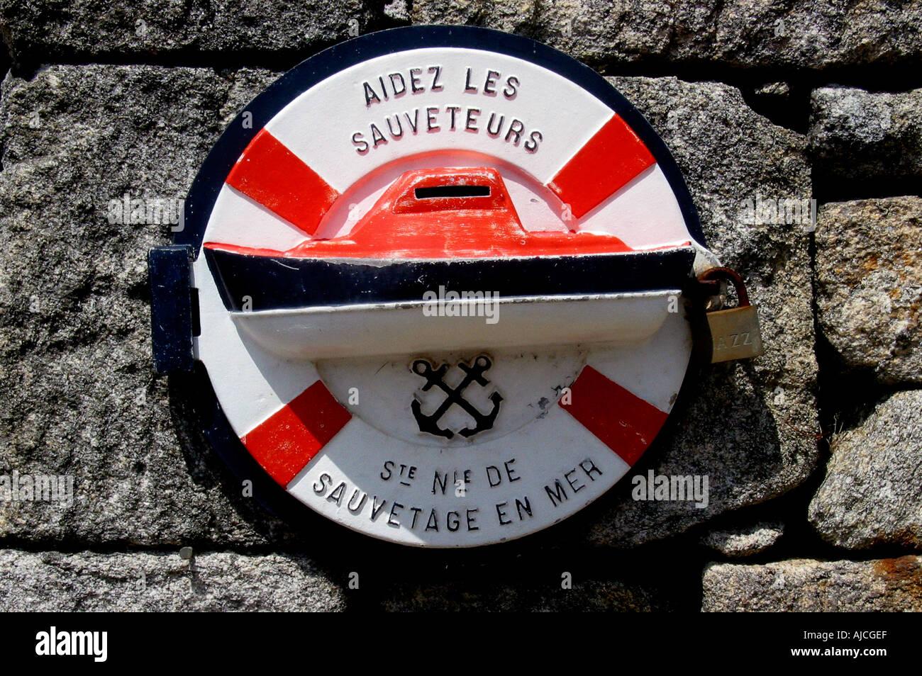 Saint Nicolas de Glenan island, Finistere,Brittany, France Bretagne - Stock Image