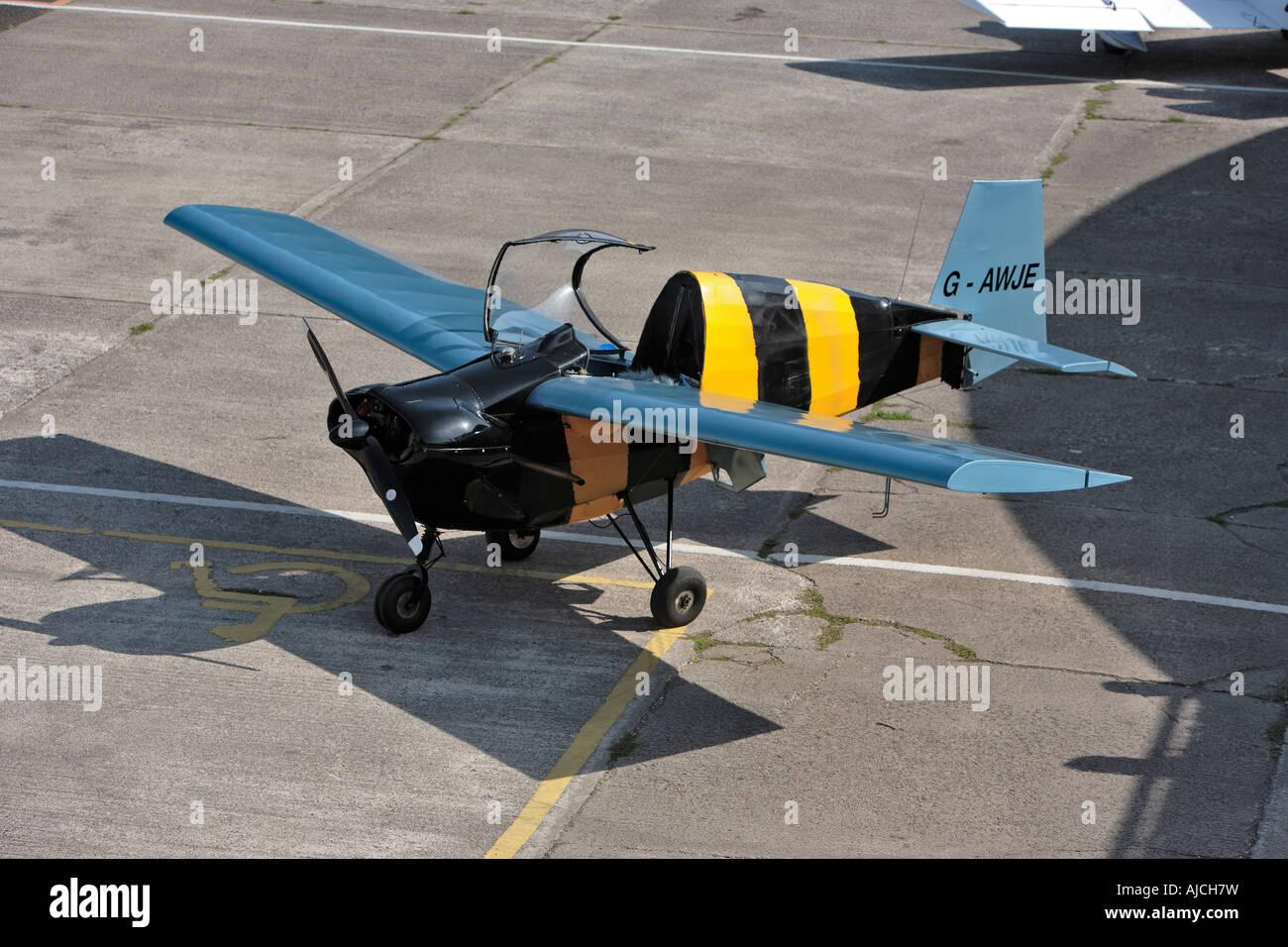 Tipsy T66 Nipper Barton Aerodrome Manchester - Stock Image