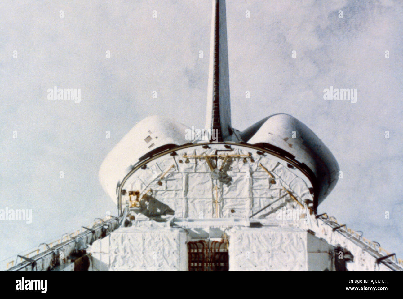 First Space Shuttle Flight - Stock Image