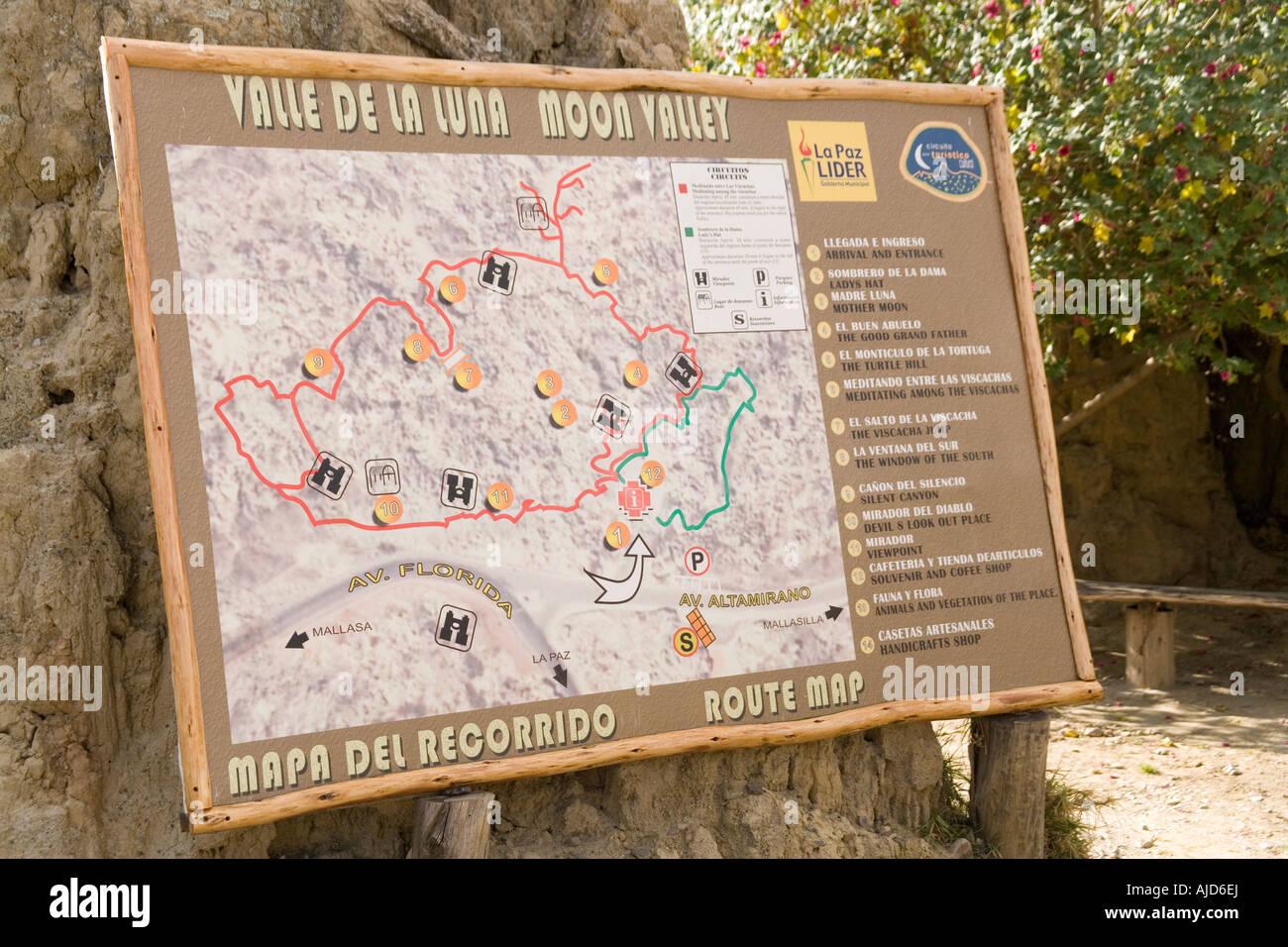 The Valley Of The Moon Valle De La Luna La Paz Bolivia Stock Photo Alamy