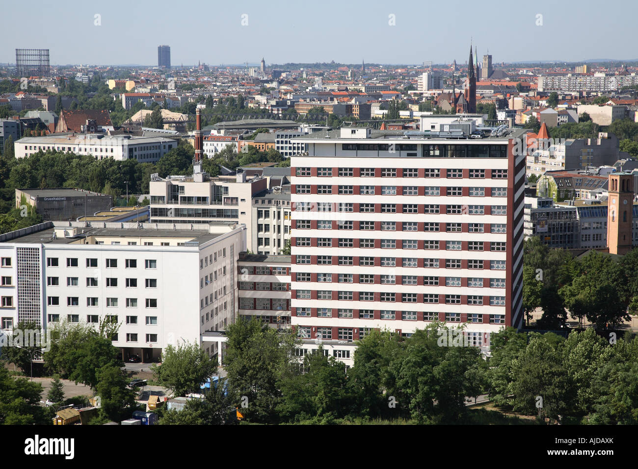 Berlin Federal Ministry For Economic Cooperation And Developmen Stock Photo