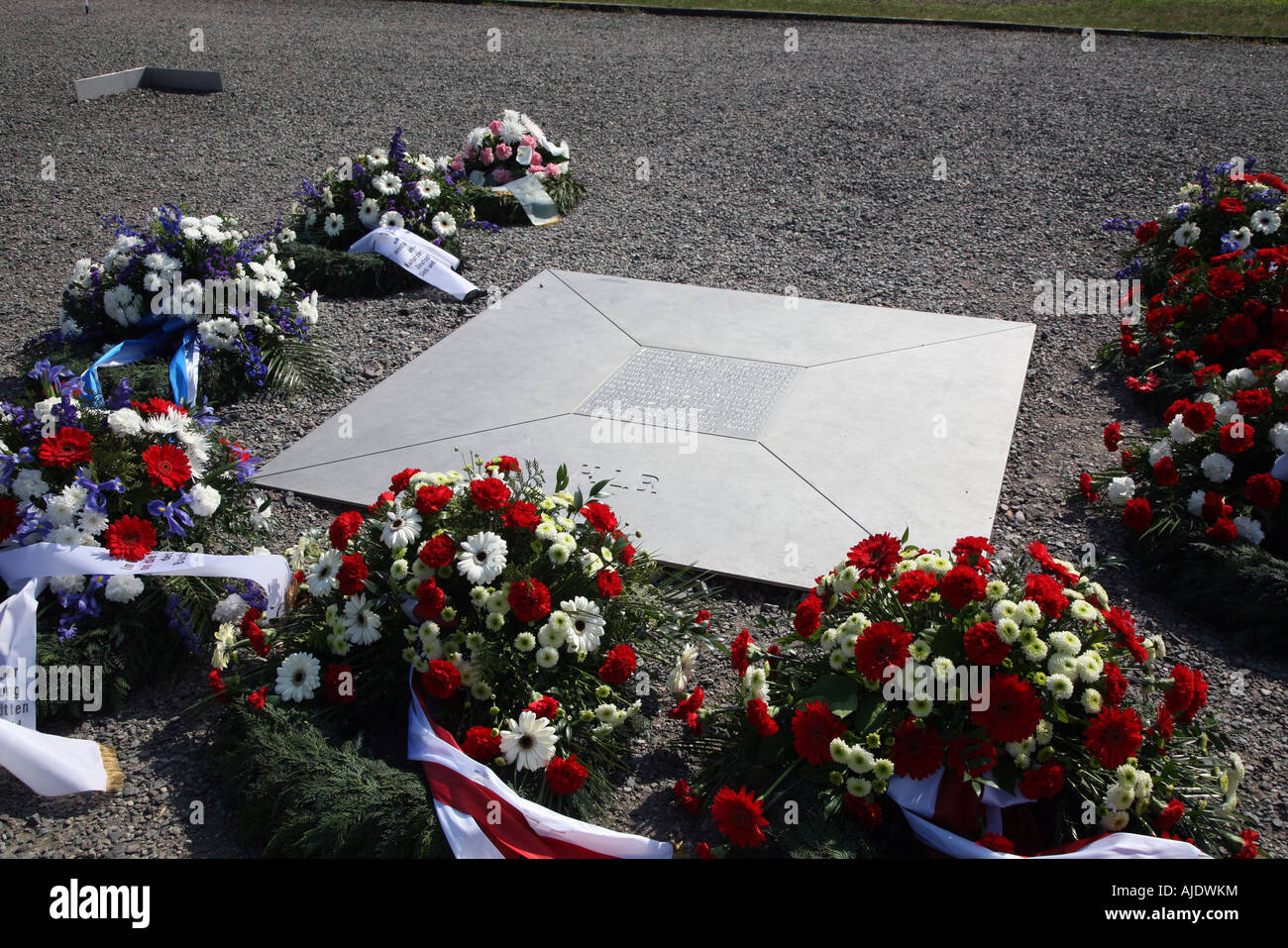 Nationale Mahn und Gedenkstaette Concentration Camp  Memorial  Buchenwald Gefaengnis Prisen - Stock Image