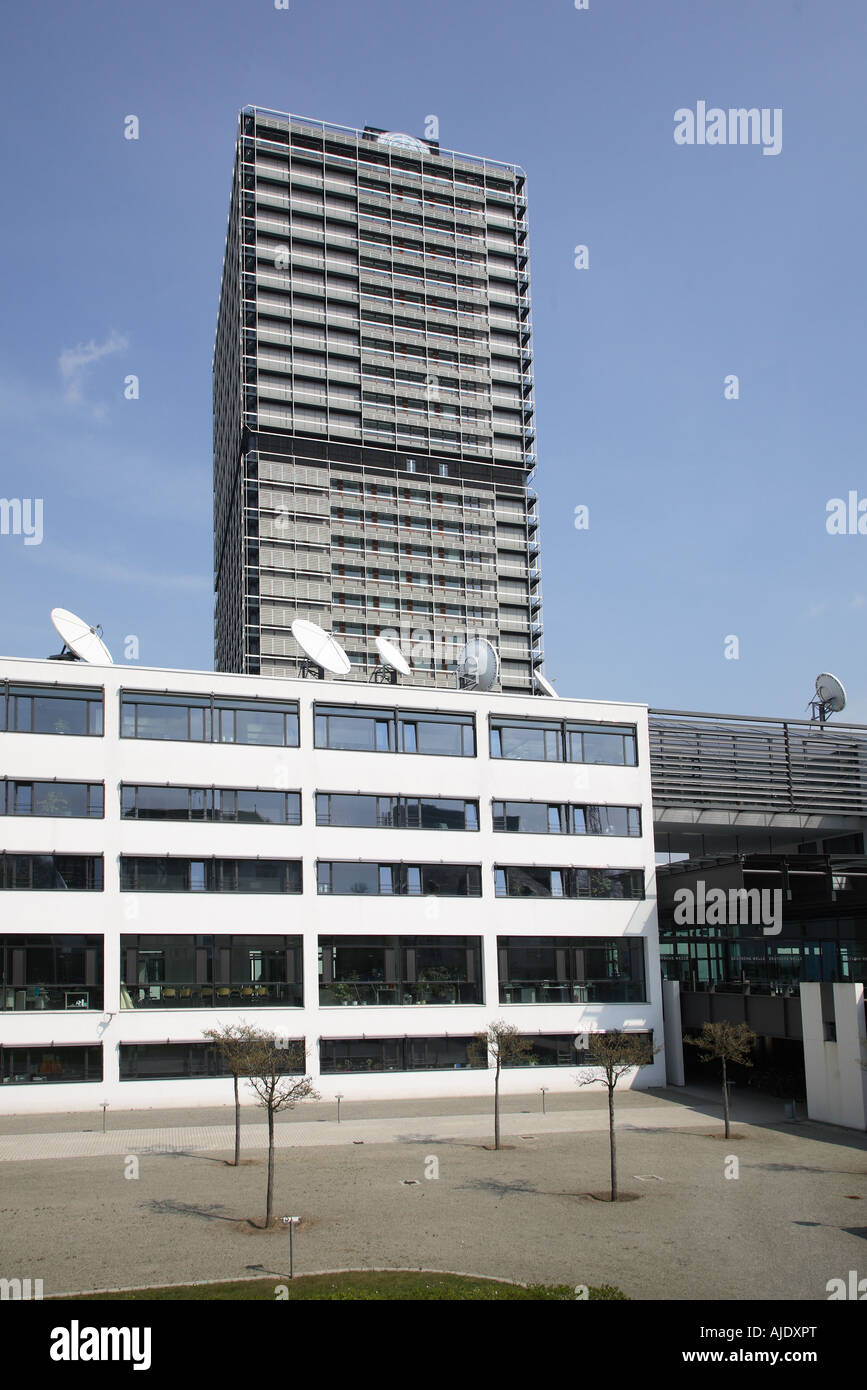 Bonn Deutsche Welle UNO Vereinte Nationen United Nation Langer Long Eugen - Stock Image