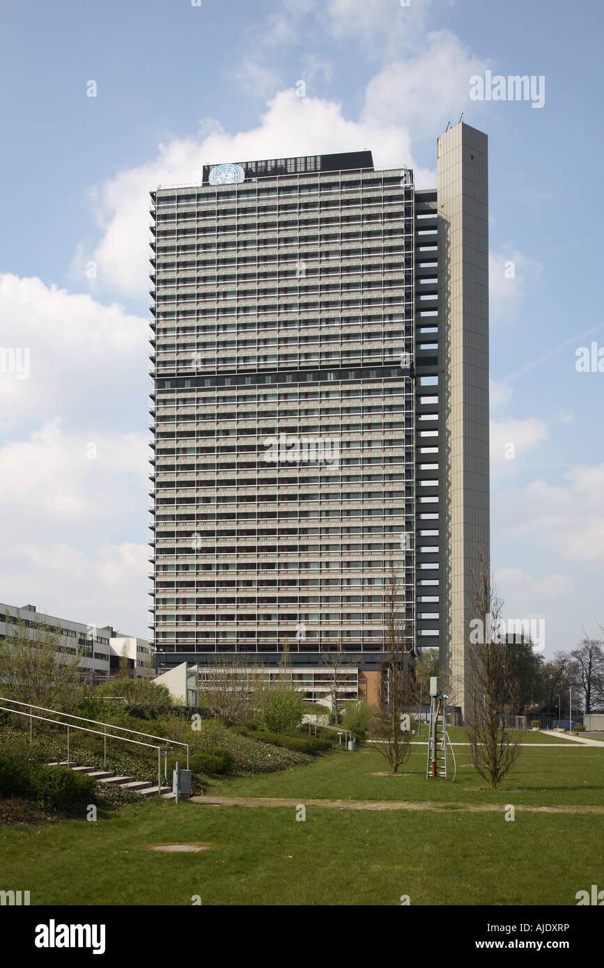 Bonn UNO Vereinte Nationen United Nation Langer Long Eugen - Stock Image