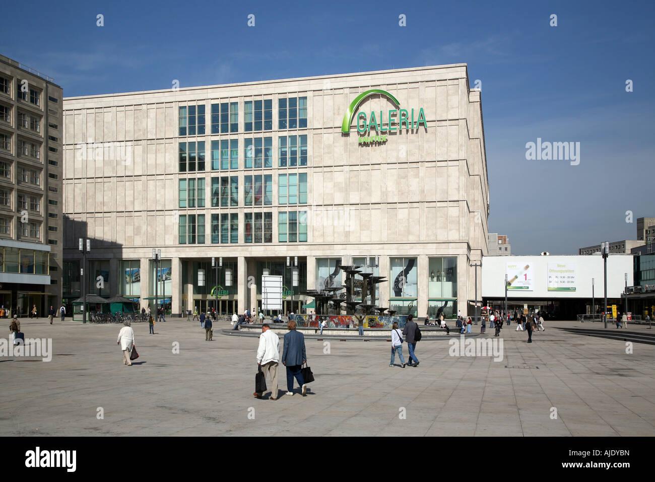 Galeria kaufhof berlin alex