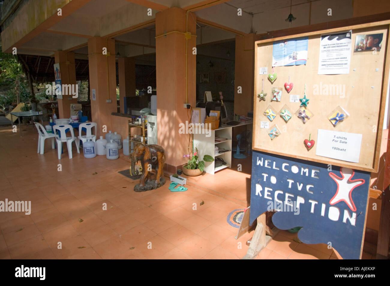 Tsunami Volunteer Center Khao Lak Thailand Stock Photo