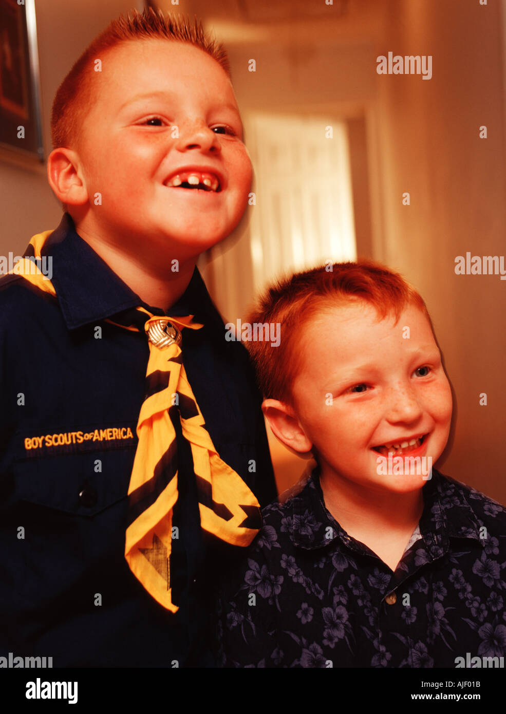 Cub scout - Stock Image