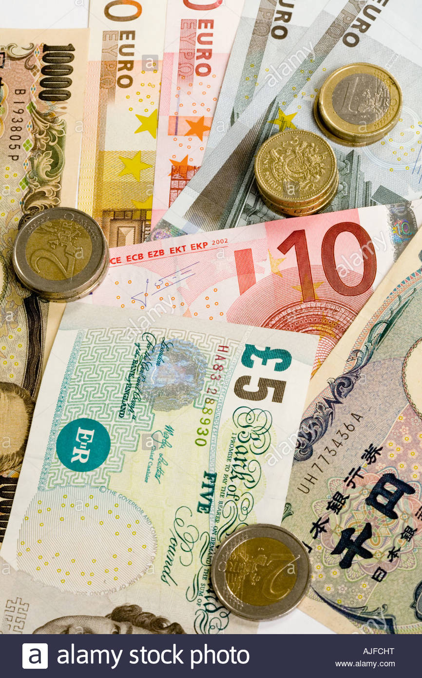 Currency - Stock Image