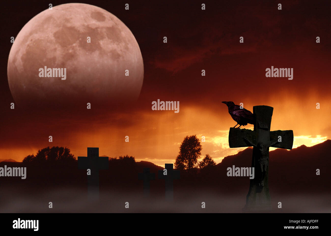 Halloween Superstition - Stock Image
