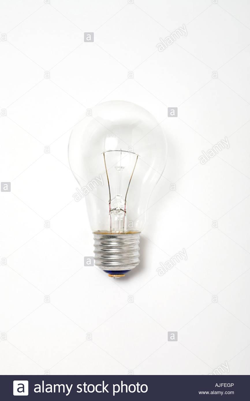 Clear Lightbulbs Stock Photos Images Alamy Diagram Of Incandescent Light Bulb Lightbulb Image