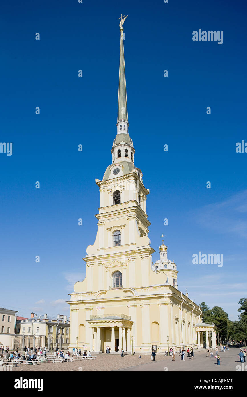 Peter and paul cathedral - Stock Image