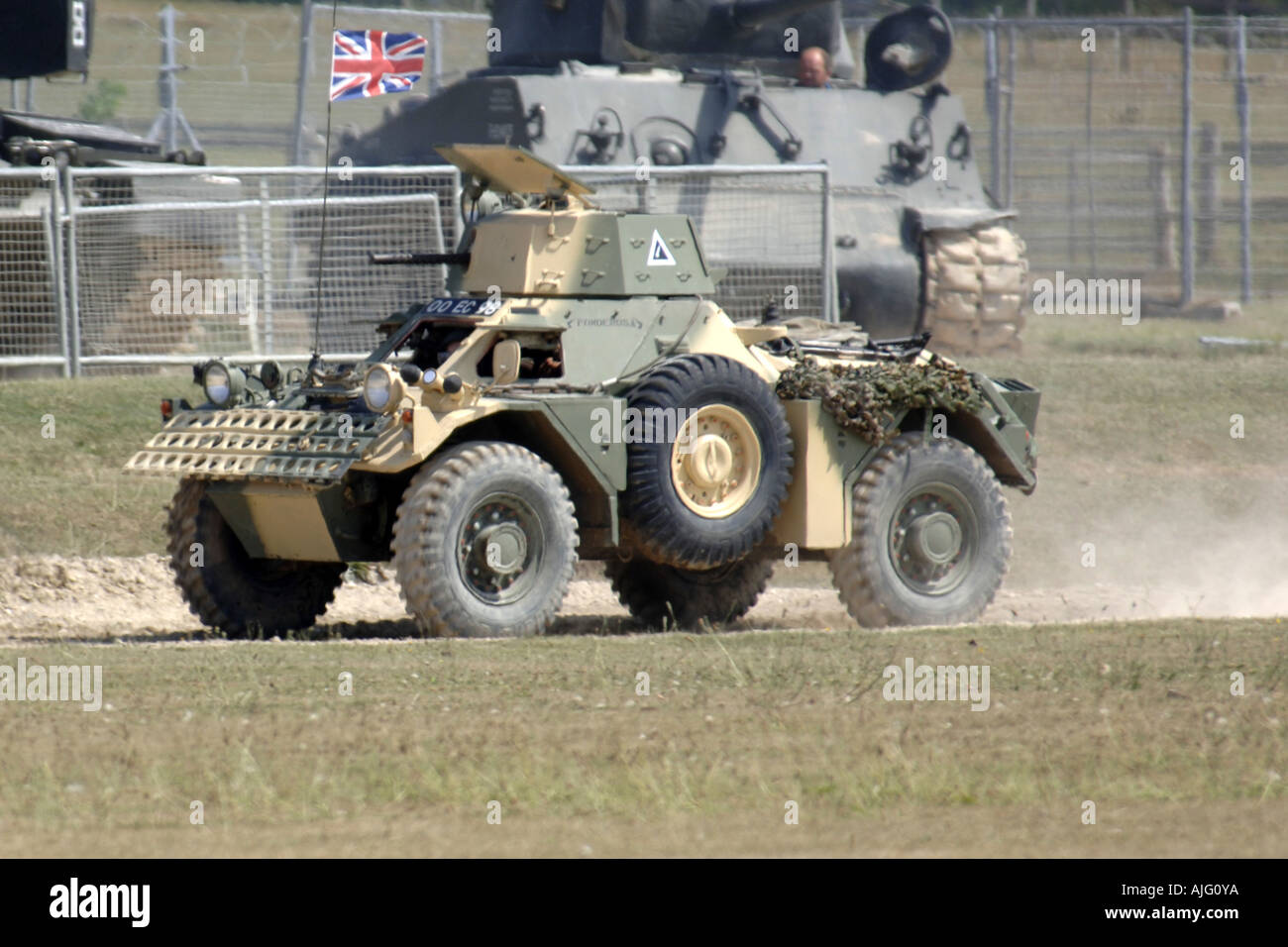 Modern British Army Scout Car - Stock Image