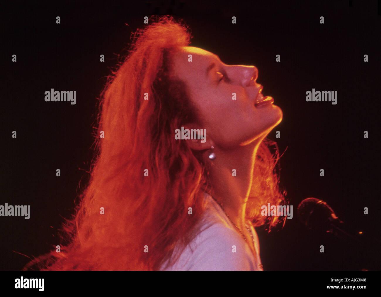 TORI AMOS US singer pianist - Stock Image