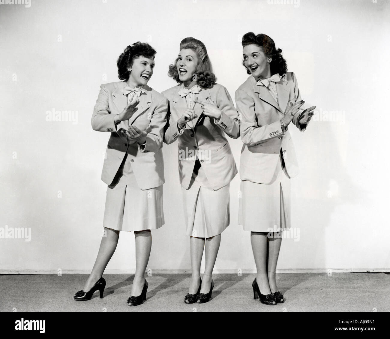 the andrews sisters stock photos the andrews sisters stock images