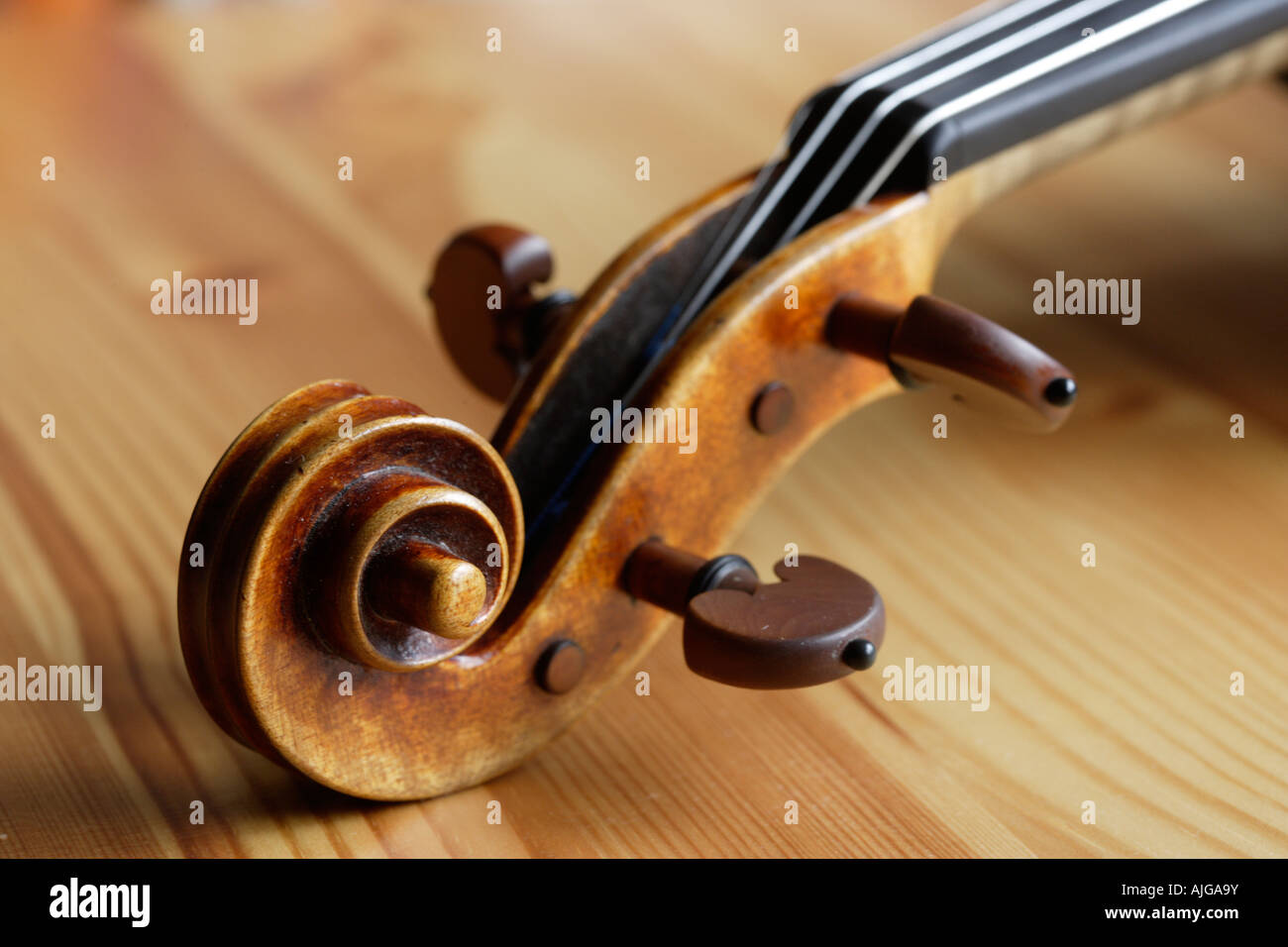 Violin - Stock Image