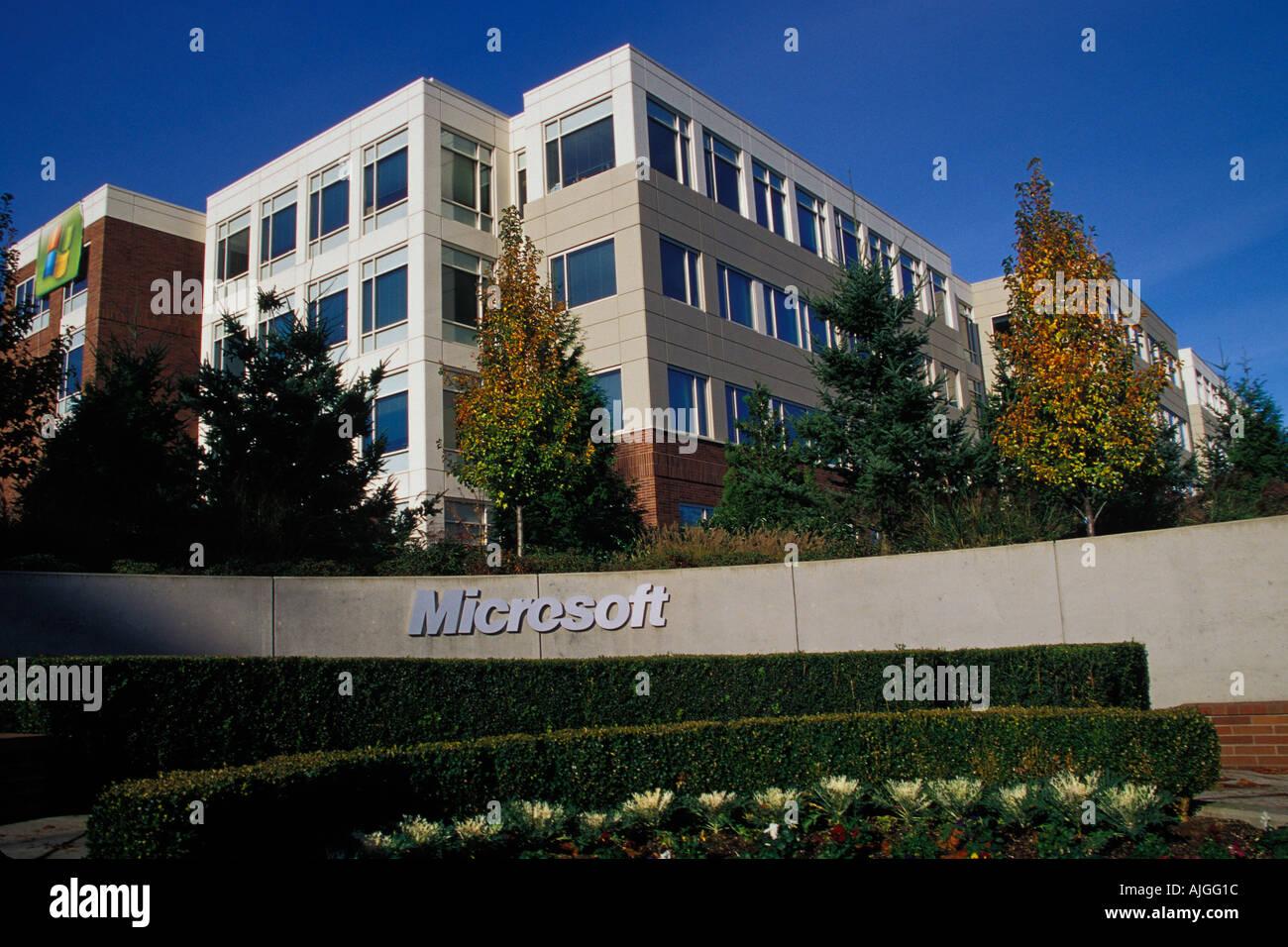 Microsoft Corporation Campus Redmond Washington USA Stock