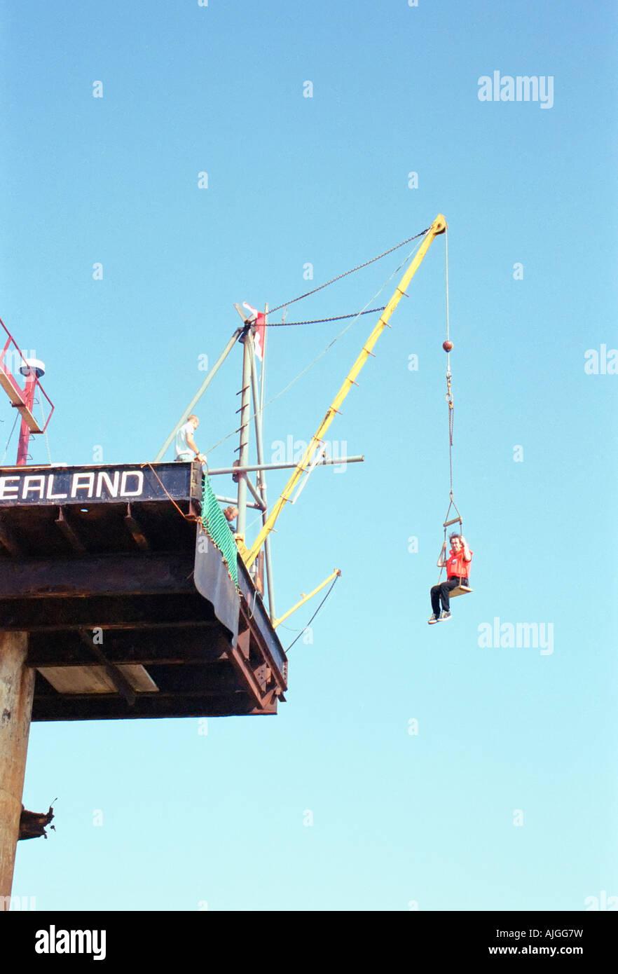 The Principality of Sealand, a micronation 12 nautical miles from the British coast. Stock Photo
