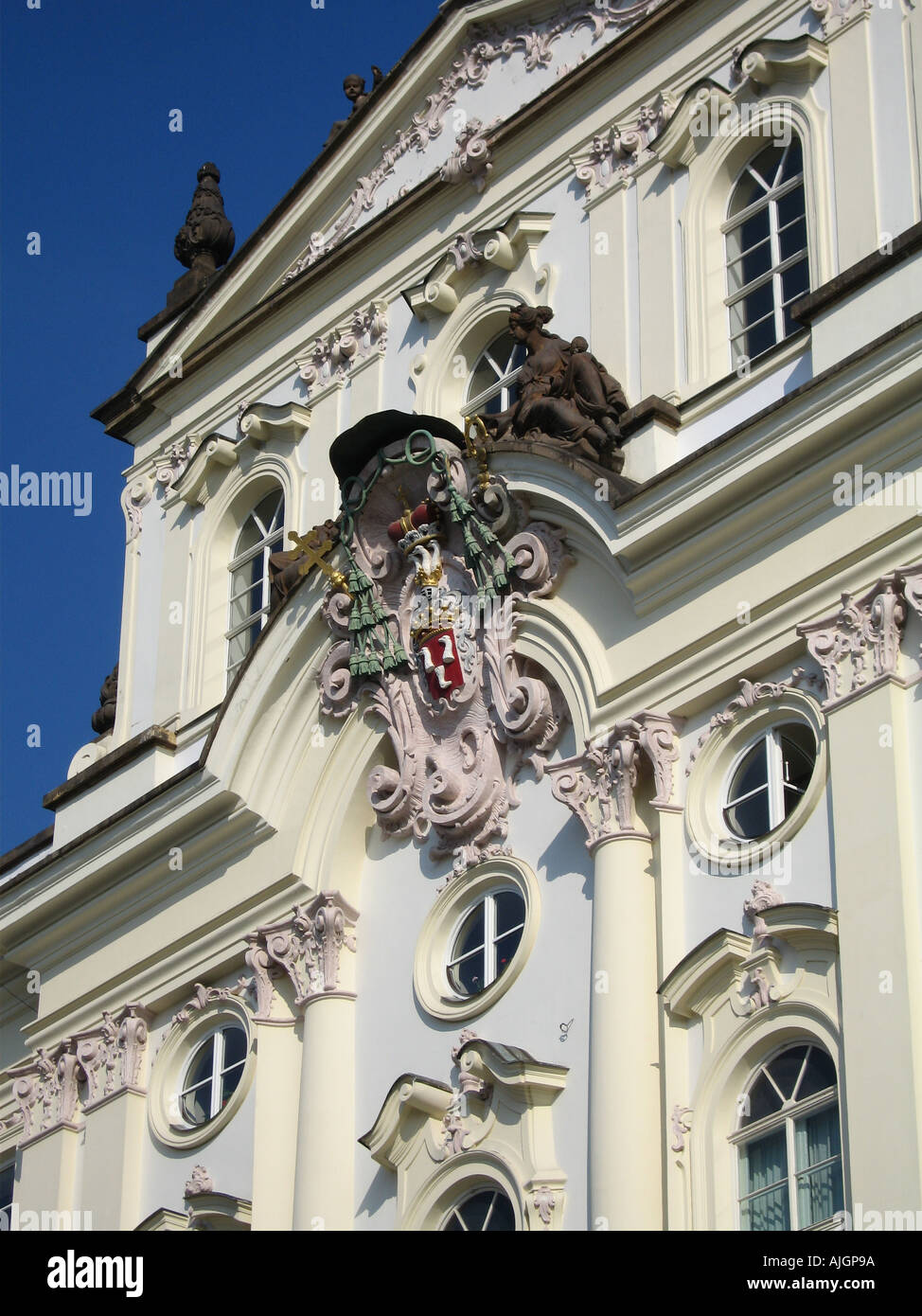 Prague Castle Building Detail 1 - Stock Image