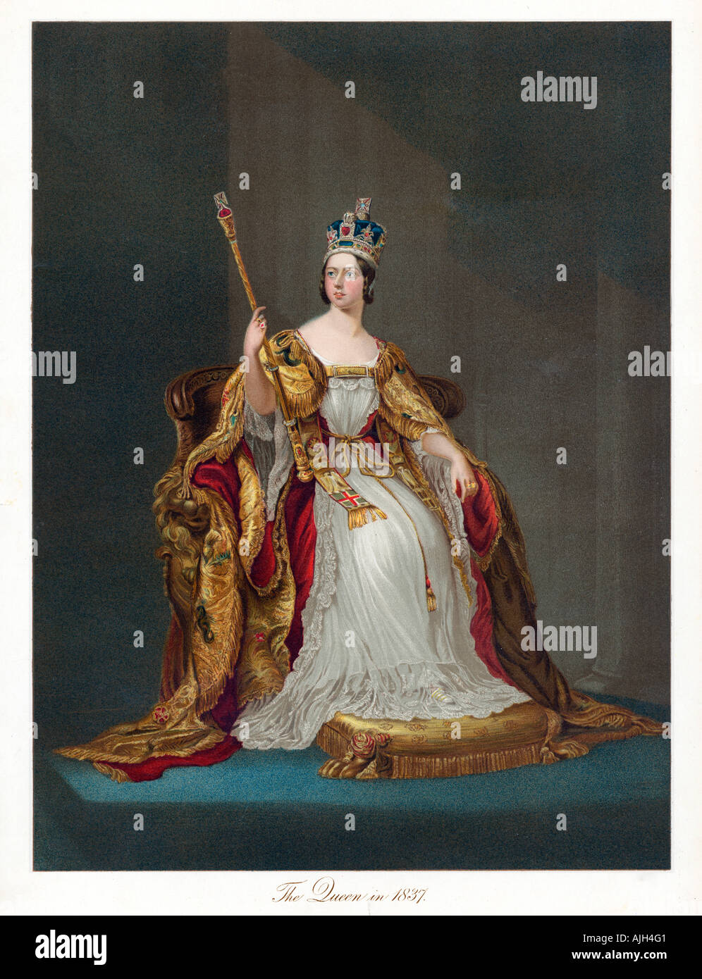 Coronation Of Queen Victoria Stock Photos & Coronation Of