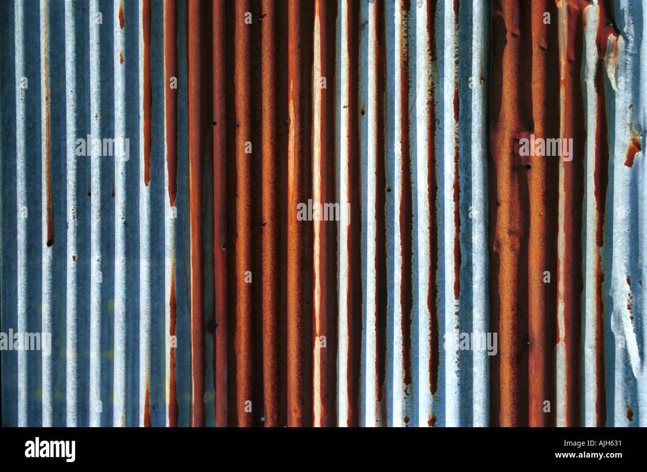 Corrugated Iron - Stock Image