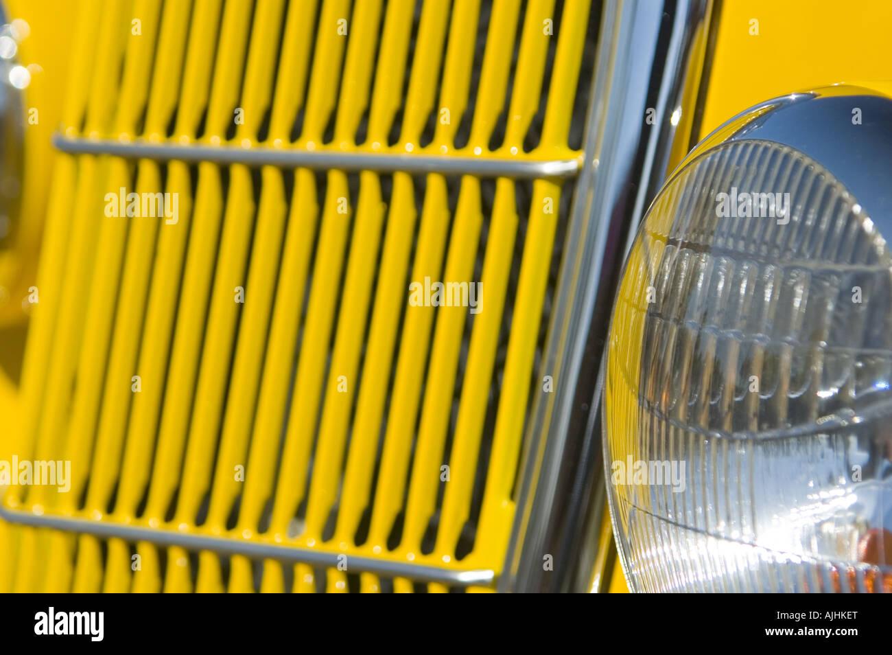 Auto Yellow Hotrod Stock Photos Amp Auto Yellow Hotrod Stock