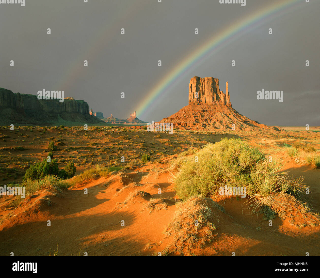 USA - ARIZONA:  Monument Valley Navajo Tribal Park - Stock Image