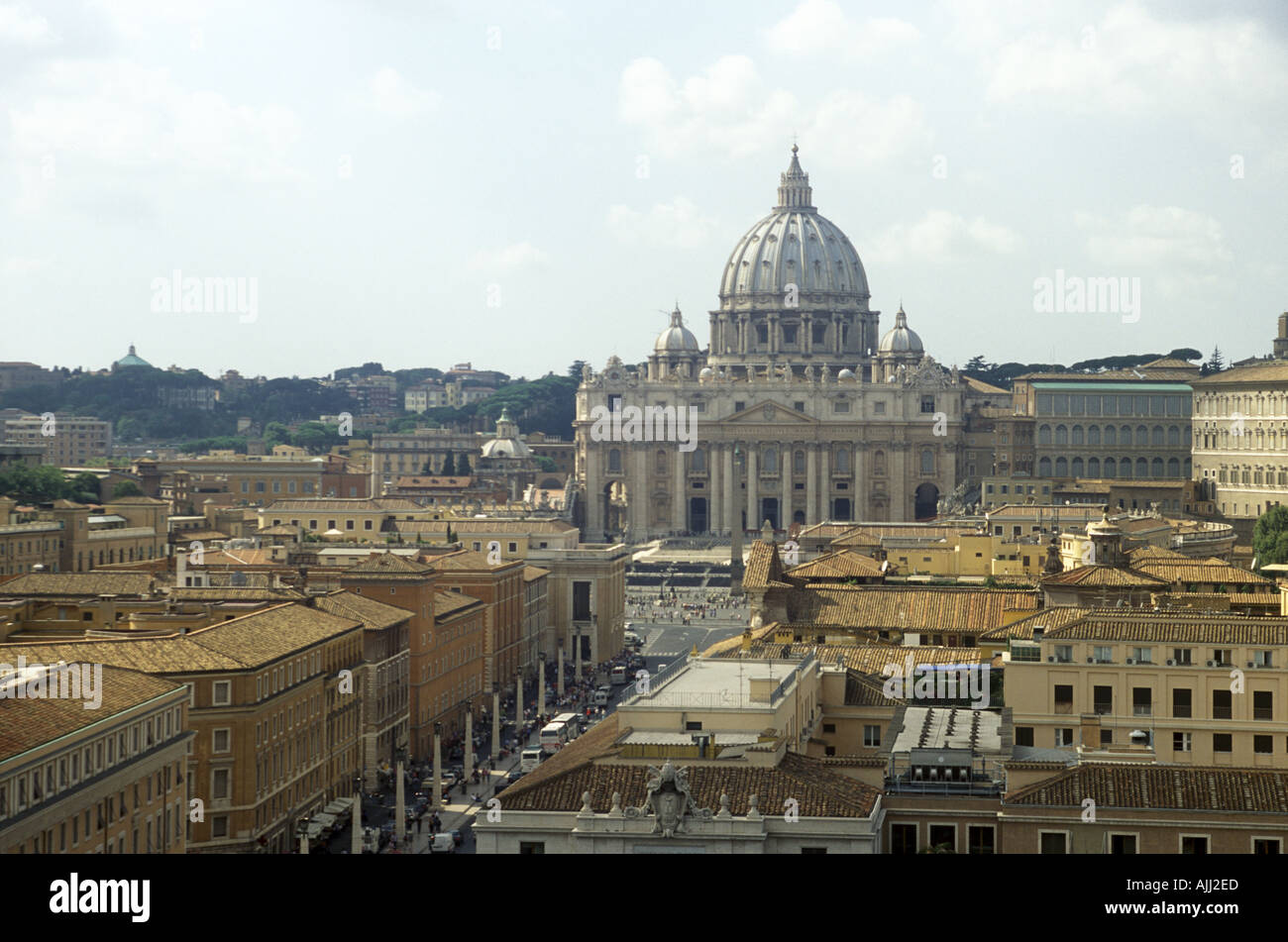 Saint Peter s in Vatican Rome Italy Stock Photo