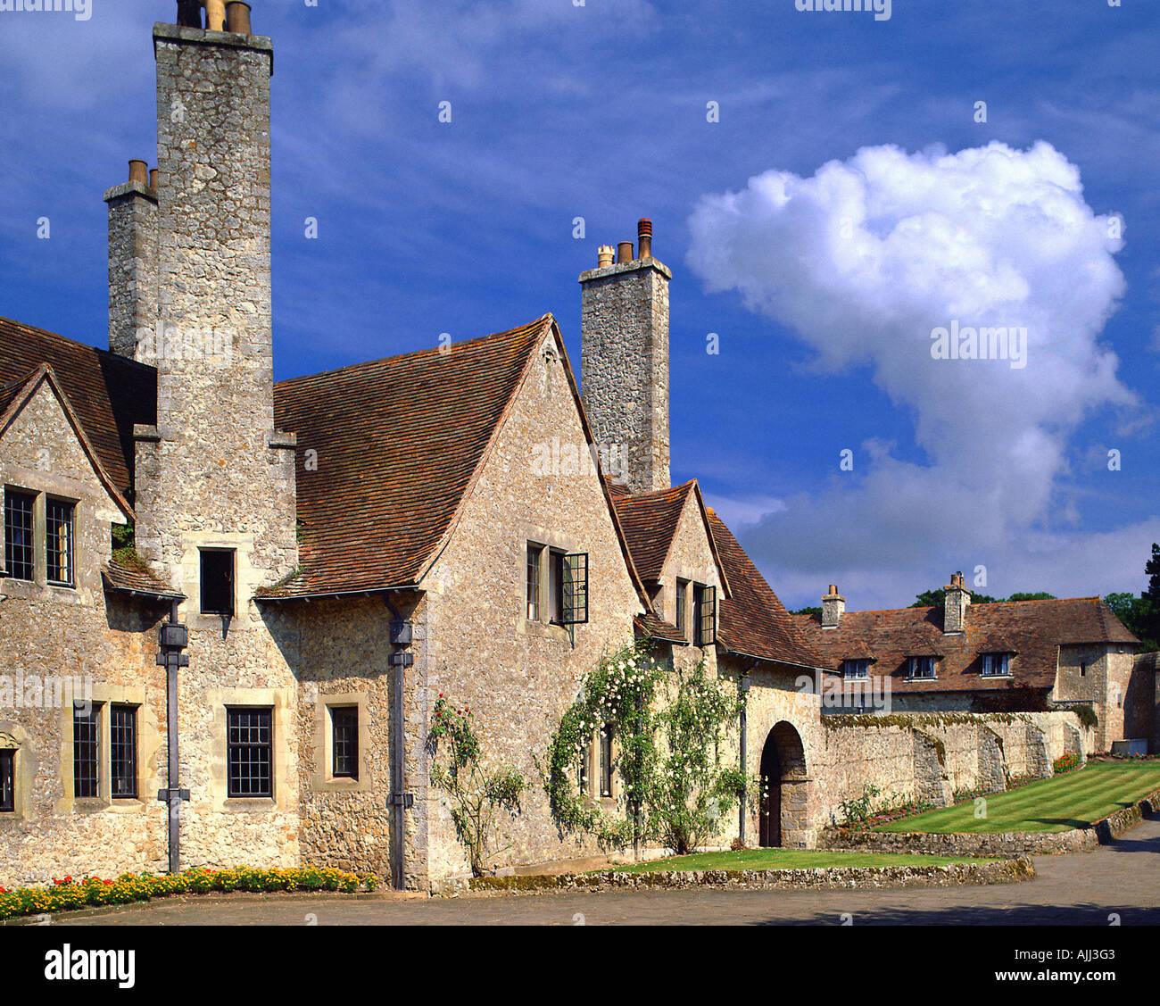 GB - KENT:  Lympne Castle - Stock Image