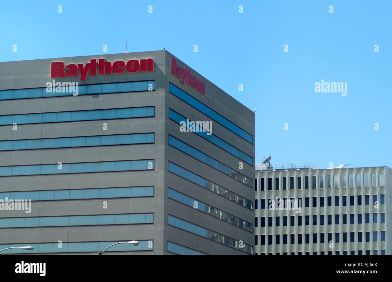 Raytheon Company Building Los Angeles USA - Stock Image