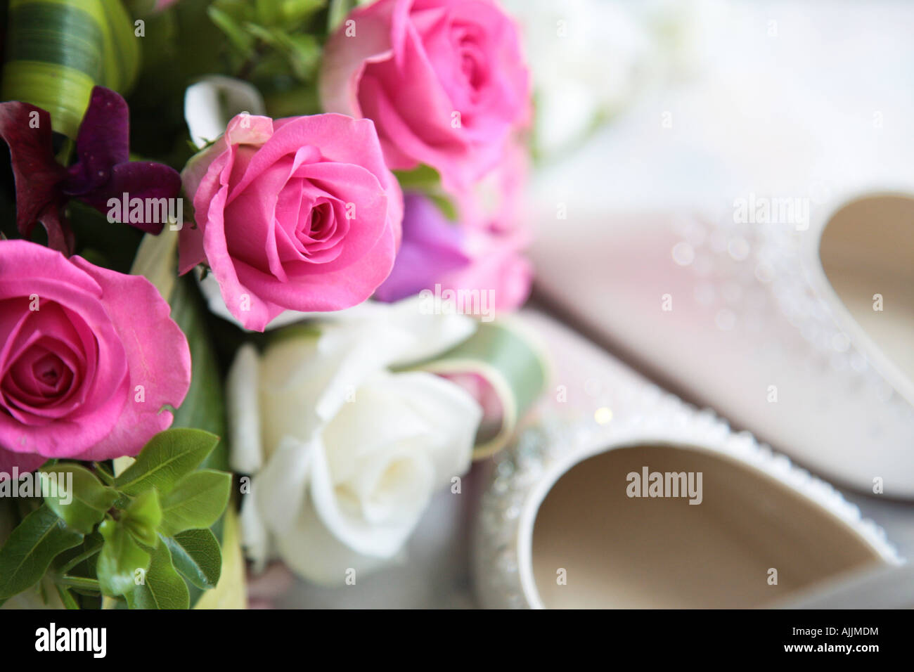 Marriage Bridal Bouquet Flowers Stock Photos & Marriage Bridal ...