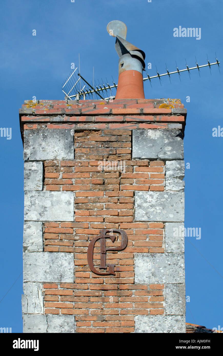 'GP', Chaumussay, Indre-et-Loire, France. - Stock Image