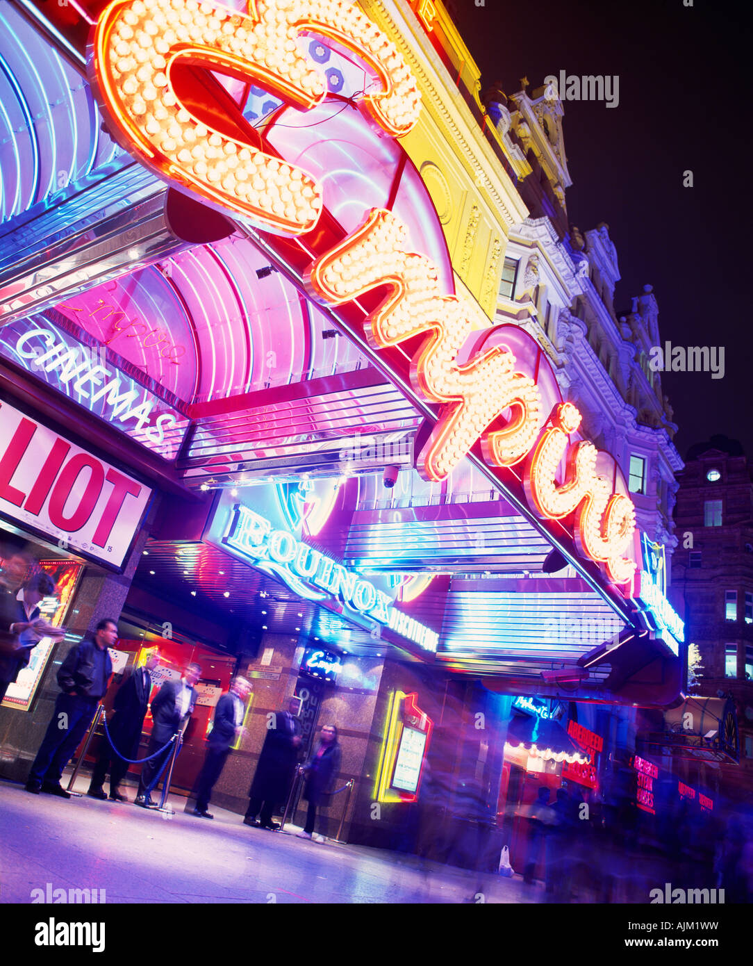 Empire cinema, Leicester Square, London - Stock Image