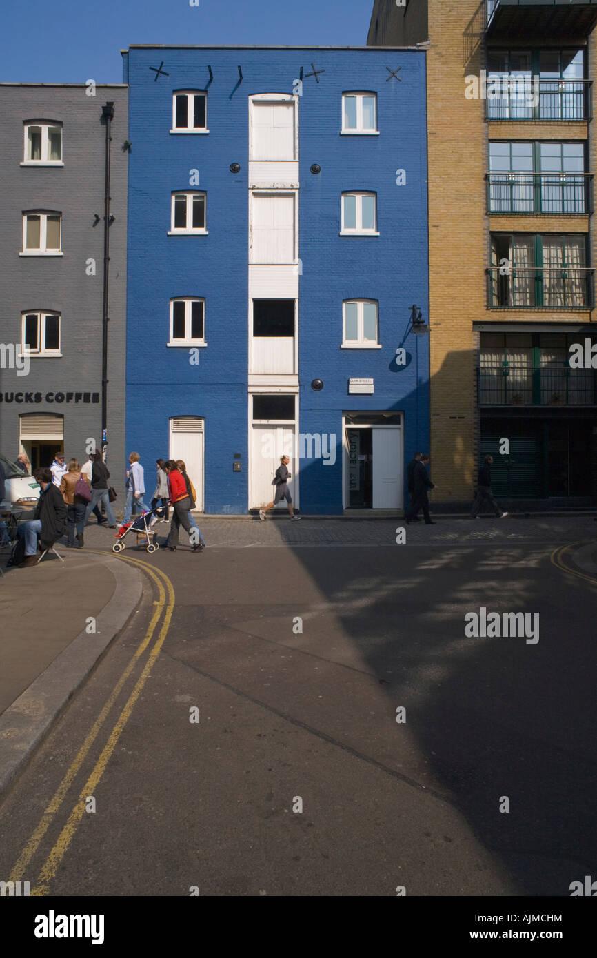 Restored Warehouse Clink street Bankside London SE1 - Stock Image