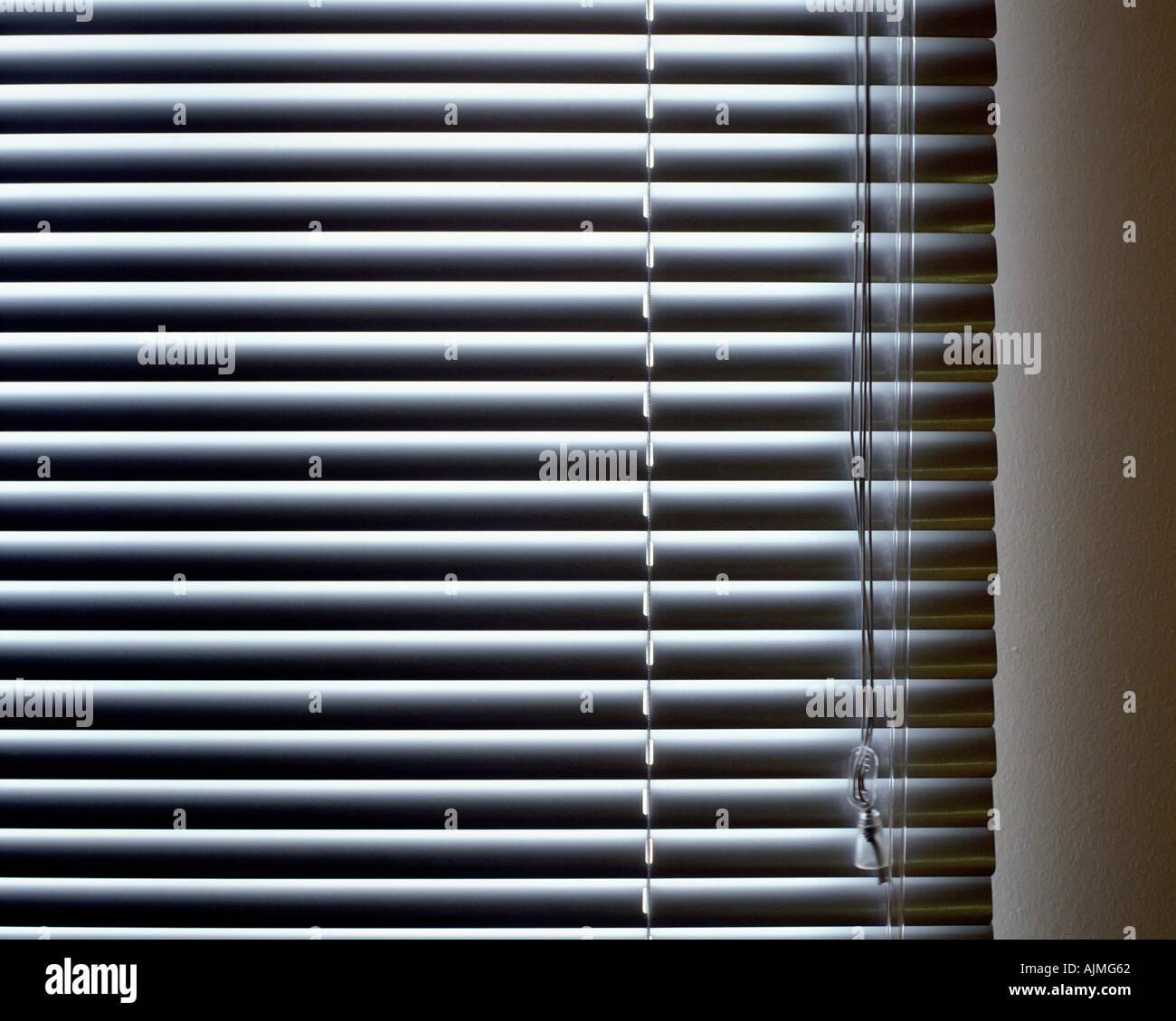 Closed blinds - Stock Image