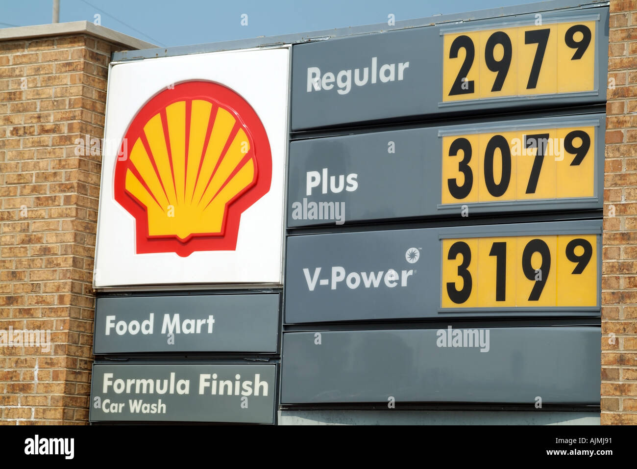 Gas Prices Chicago >> Gas Petrol Price Rise American Gas Station In Wheaton Near Chicago
