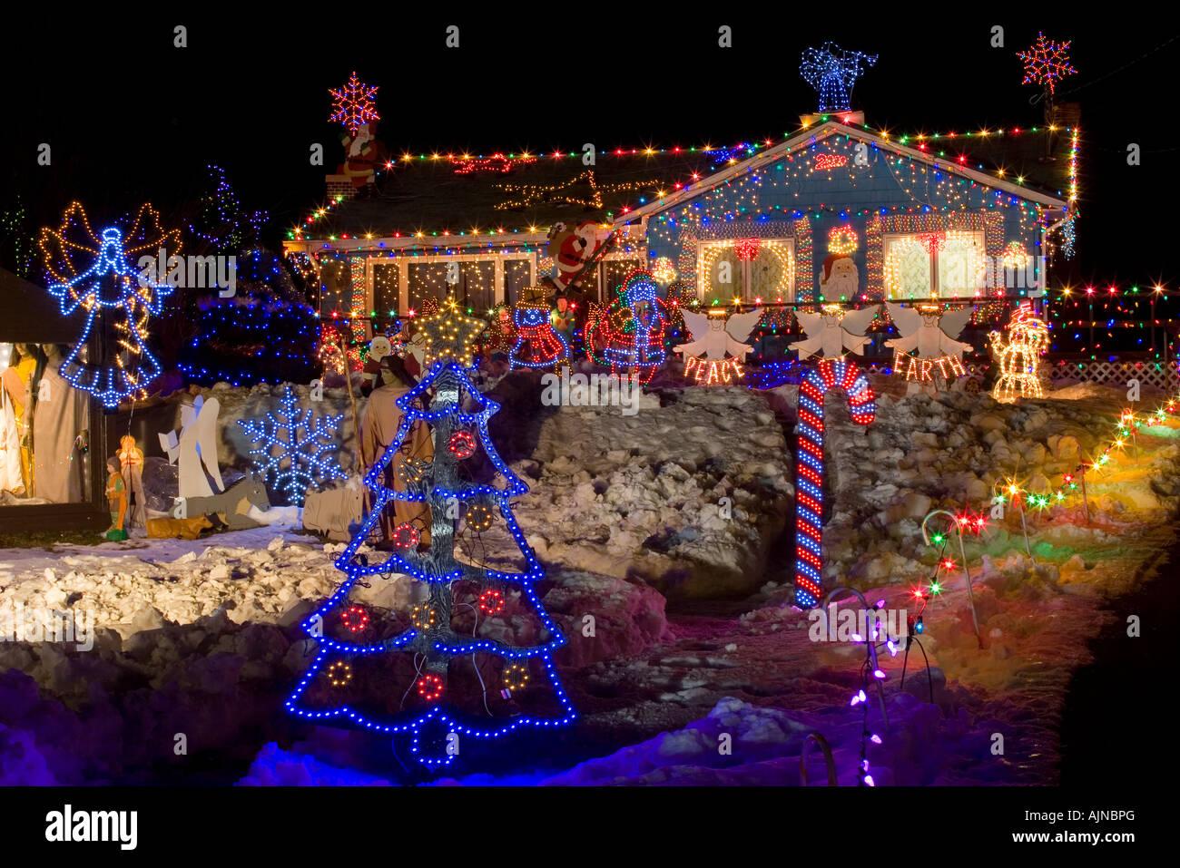 Prince Christmas Decorations.Christmas Lights North Rustico Prince Edward Island