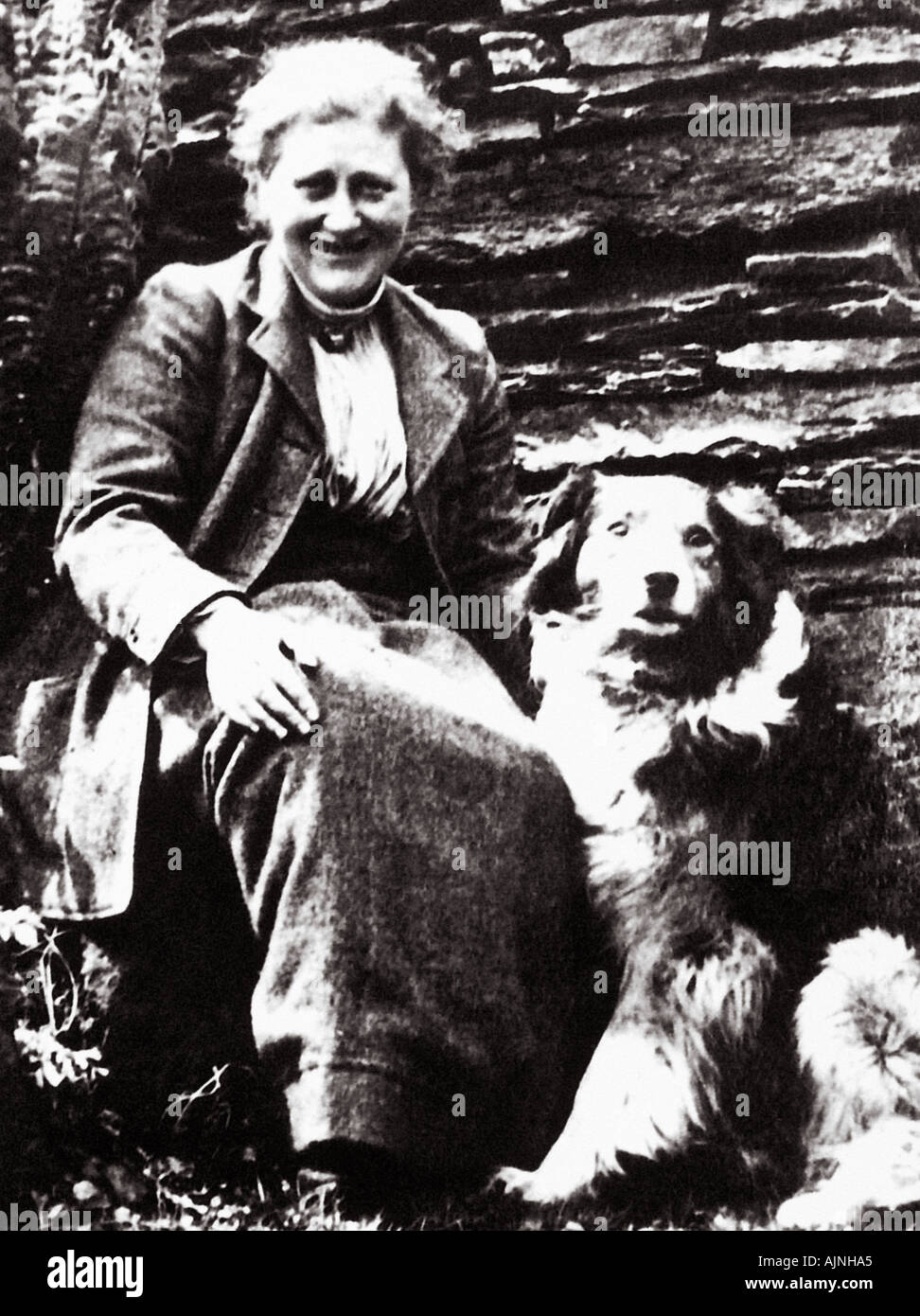 BEATRIX POTTER English author and illustrator of a series of classic books for children 1866 1943 - Stock Image