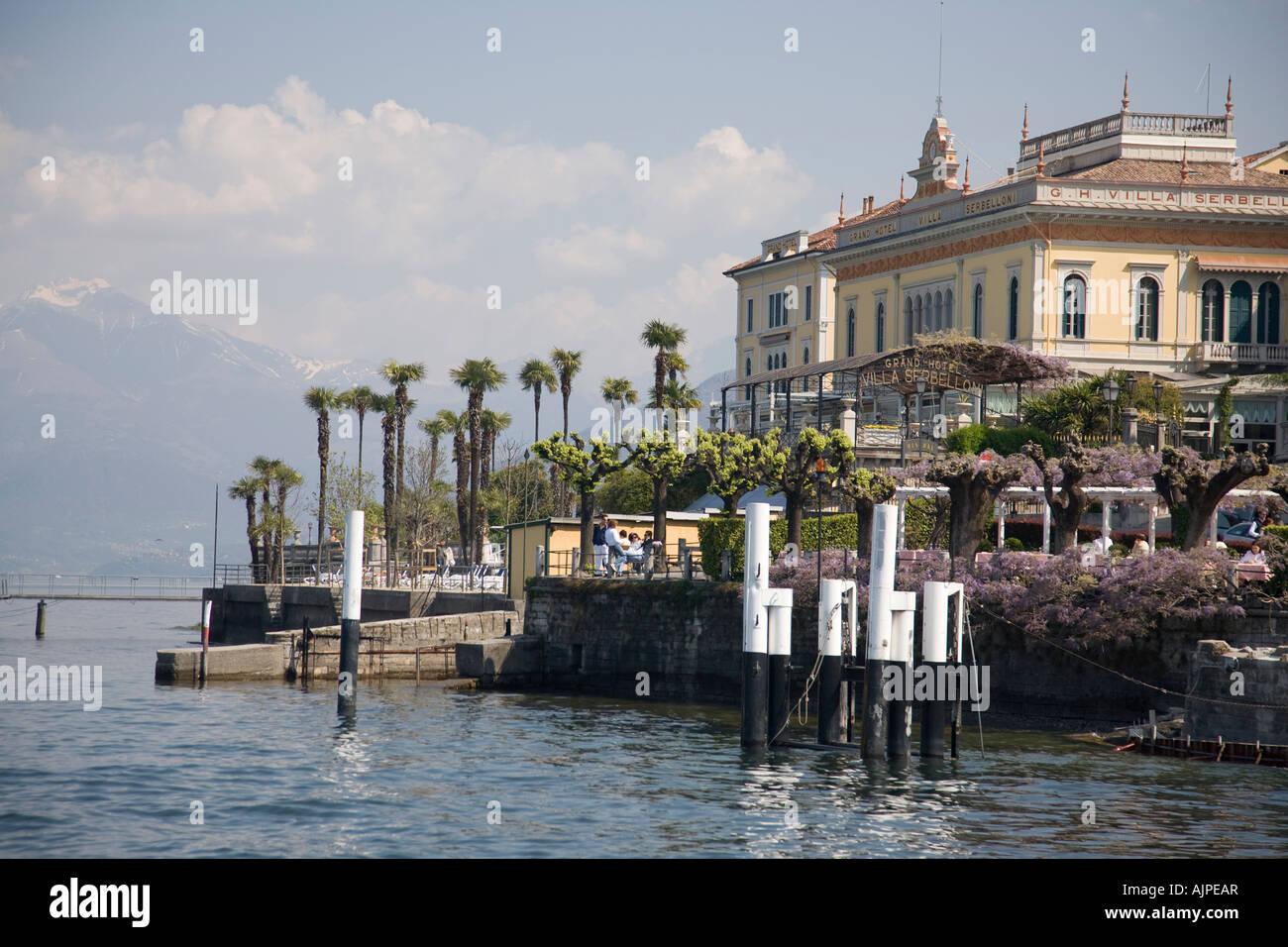 Grand Hotel Villa Serbelloni On Lake Como Bellagio Italy Stock Photo Alamy