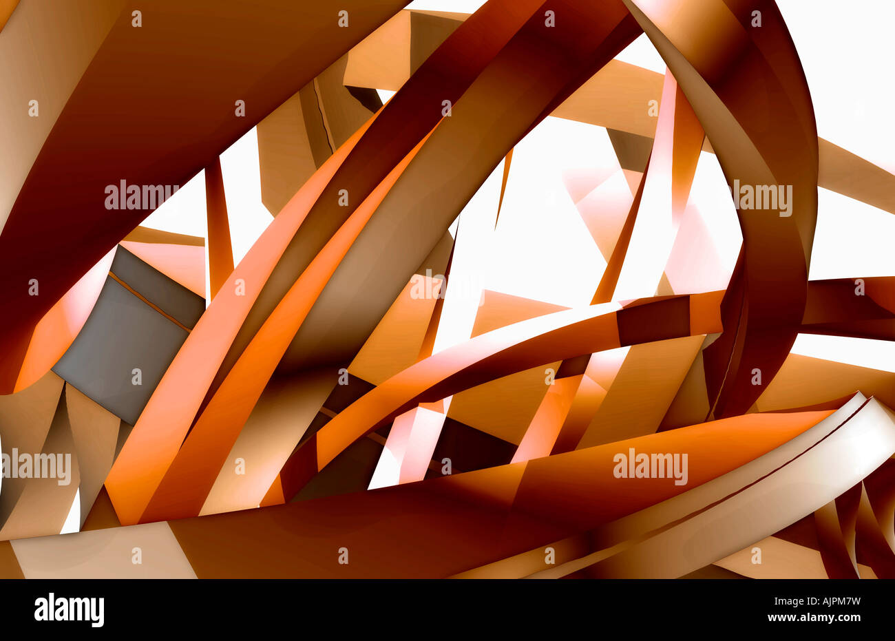 Close-up view of an abstract design - Stock Image